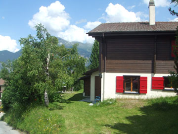 quot arc en ciel quot chalet in affitto in vercorin vallese svizzera